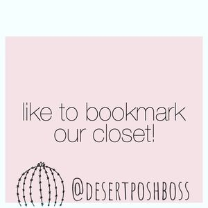 Like to bookmark our closet!